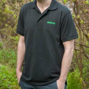 Bilde av Opticron poloskjorte, svart - herre L